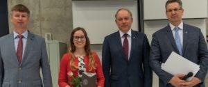 KTU mokslininkės disertacijai – Europos doktorantūros tinklo įvertinimas